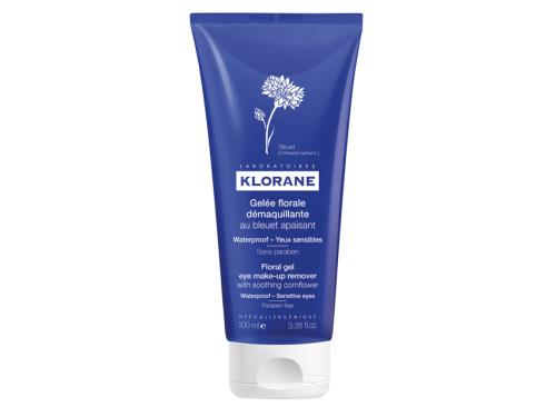 Klorane Floral Gel Eye Make-up Remover with Soothing Cornflower