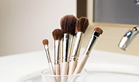 The right way to clean makeup brushes