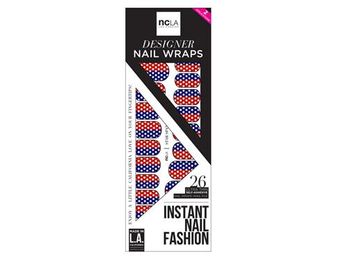 ncLA Nail Wraps - Star Spangled