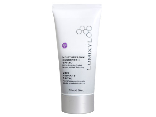 Lumixyl MoistureLock Sunscreen SPF 30, a physical Lumixyl sunscreen