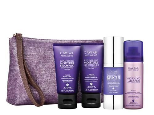 Alterna Caviar Moisture Travel Kit