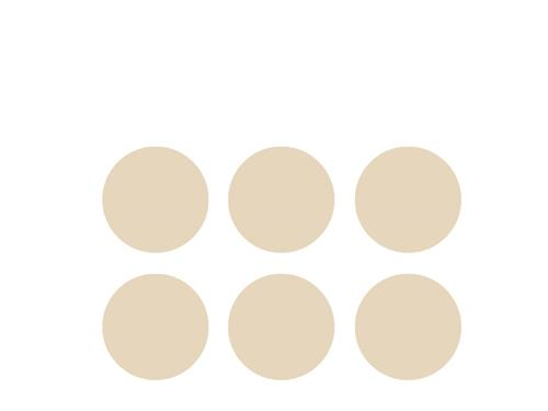 NewGel+ Silicone Dots For Scars - Beige