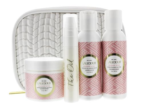 LaLicious Glow On The Go Travel Collection - Sugar Kiss
