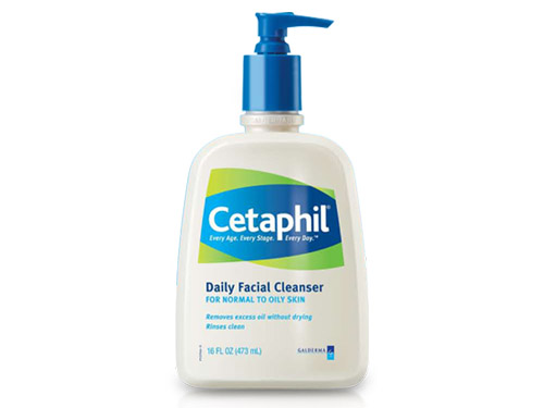 Cetaphil Daily Facial Cleanser for Normal to Oily Skin - 16 oz
