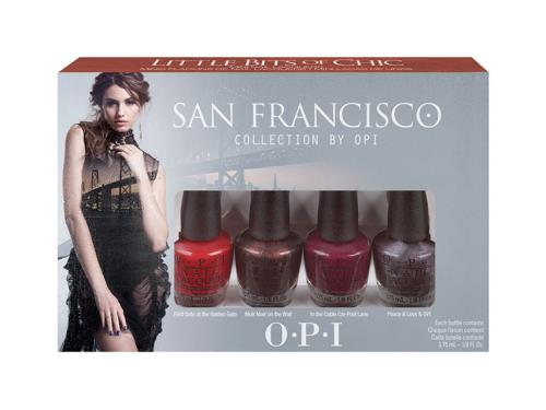 OPI San Francisco Little Bits of Chic Mini Pack