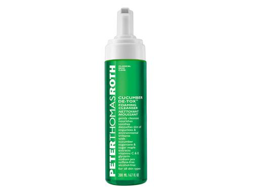 Peter Thomas Roth Cucumber De-Tox Foaming Cleanser, a Peter Thomas Roth face wash