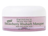 Eminence Organics Strawberry Rhubarb Masque with Hyaluronic Acid