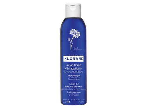 Klorane Floral Lotion Eye Make-up Remover with Soothing Cornflower - 200 ml
