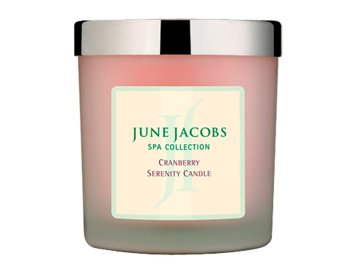 June Jacobs Cranberry Serenity Candle