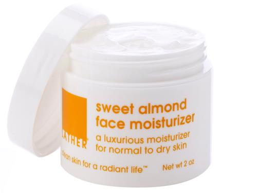 LATHER Sweet Almond Facial Moisturizer