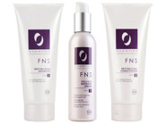 Osmotics FNS Revitalizing Shampoo, Conditioner, and Encore Follicle Nutrient Serum Package