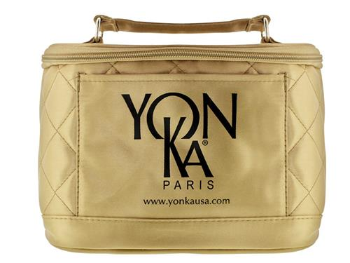 Free $25 Yon-Ka Gold Train Case