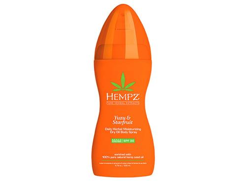 Hempz Daily Herbal Moisturizing Dry Oil Body Spray with SPF 30