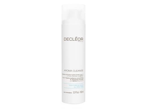 Decleor 3 in 1 Hydra Radiance Smoothing & Cleansing Mousse