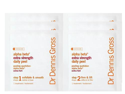 Free $8 Dr. Dennis Gross Skincare Extra Strength Alpha Beta Peel - 3 Applications