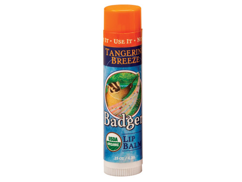 Badger Tangerine Breeze Lip Balm Stick