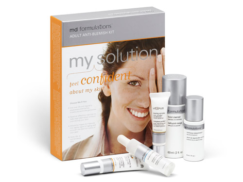 MD Formulations Adult Anti-Blemish Solution Kit