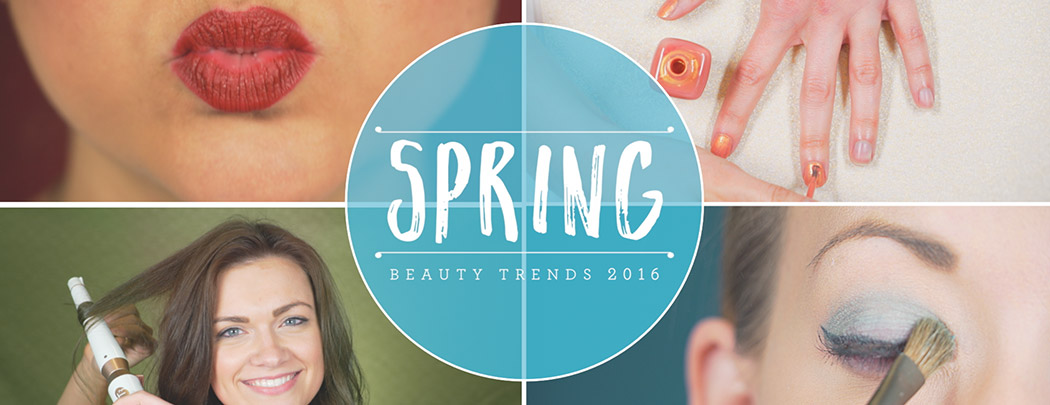 Spring Beauty and Makeup Trends 2016
