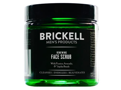 Brickell Renewing Face Scrub Travel Size