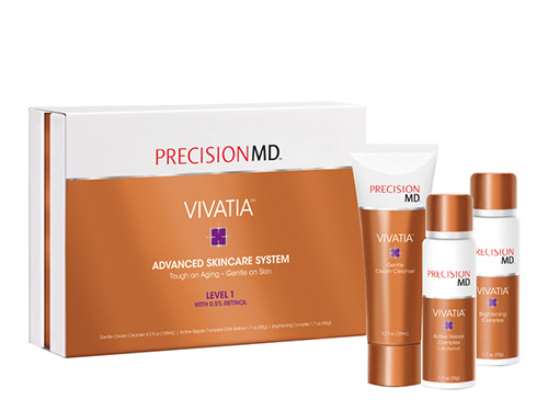 PrecisionMD Vivatia Advanced Skincare System with Retinol