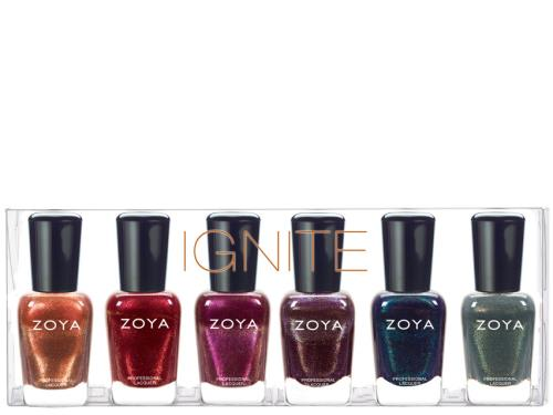 Zoya Ignite Lacquer Sampler Collection