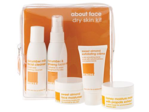 LATHER About Face Dry Skin Kit