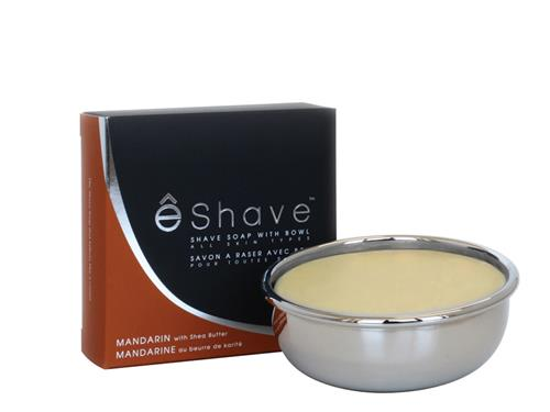 eShave Shave Soap Bowl - Mandarin