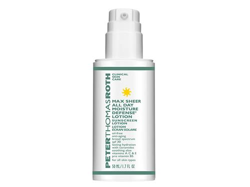 Peter Thomas Roth Max Sheer All Day Moisture Defense Lotion with SPF 30