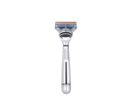 The Art of Shaving Fusion Chrome Collection Manual Razor