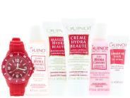 Guinot Comforting Travel Kit with Free Guinot Watch