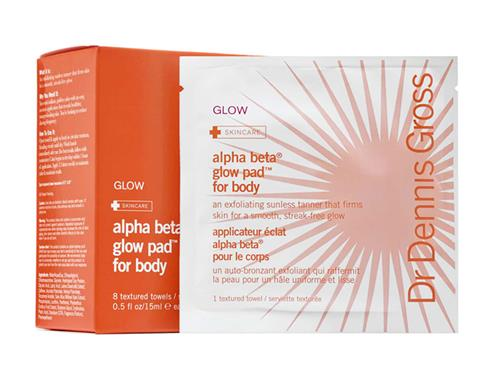 Dr. Dennis Gross Skincare Alpha Beta® Glow Pad for Body with Active Vitamin D, a Dr. Dennis Gross self tanner