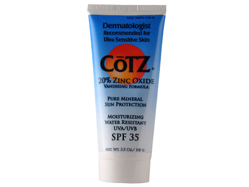 CoTZ 20% Zinc Oxide Pure Mineral Sun Protection SPF 35 - Water Resistant