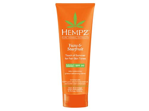 Hempz Touch of Summer Daily Moisturizer - Fair