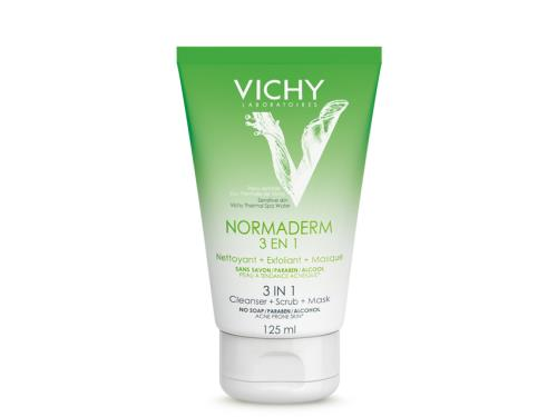 Vichy Normaderm Triple Action 3-in-1 Cleanser