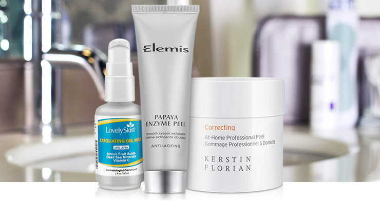 Save 20% on Featured Peels and Exfoliators.