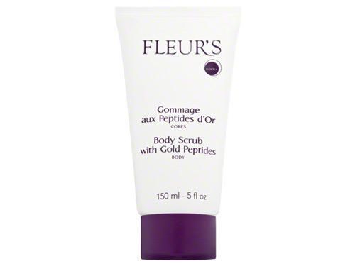 Fleurs Body Scrub with Gold Peptides