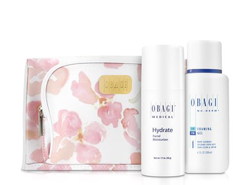 Obagi Nu-Derm Foaming Gel and Hydrate Limited Edition Set