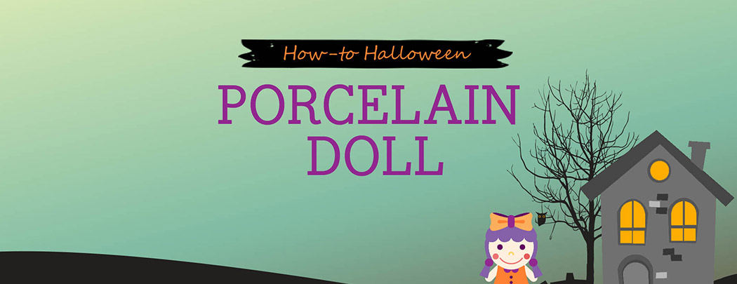 How-to Halloween: Porcelain Doll