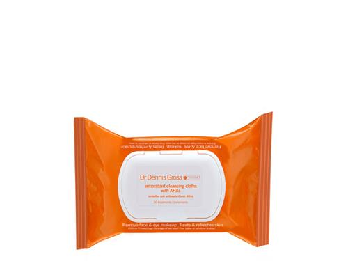 Dr. Dennis Gross Skincare Antioxidant Cleansing Cloths with AHA