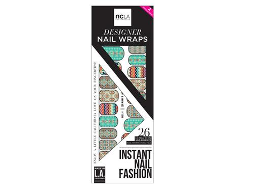 ncLA Nail Wraps - Summer of Love