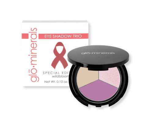 glo minerals Wildbloom Special Edition Eye Shadow Trio
