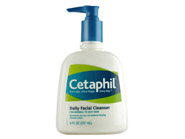 Cetaphil Daily Facial Cleanser for Normal to Oily Skin - 8 oz