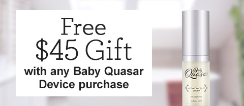 Free $45 Baby Quasar Instant Face Lift Cream!