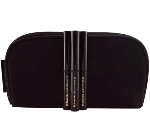Dr. Hauschka Novum Lipstick Limited Edition Set with Cosmetic Bag for Dr. Hauschka cosmetics