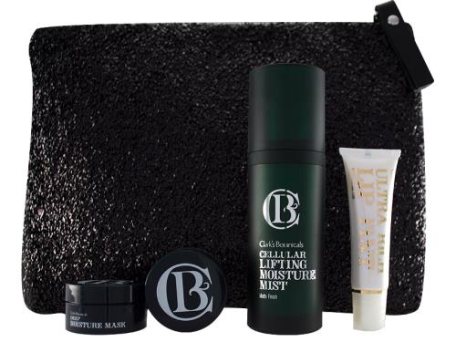 Clarks Botanicals Thakoon Little Black Clutch Holiday Set
