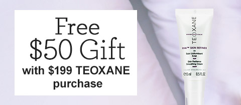 Free $50 Teoxane Travel-Size RHA Skin Refiner Skin Radiance Smoothing Cream!