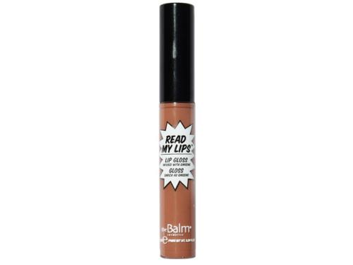theBalm Read My Lips Lip Gloss - Snap! (warm nude)