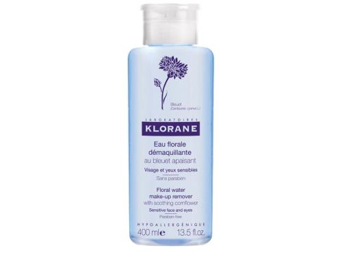 Klorane Floral Water Make-Up Remover with Soothing Cornflower - 400 ml