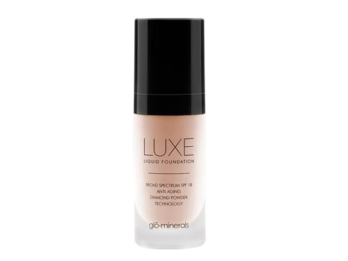 glo minerals Luxe Liquid Foundation - Rosette