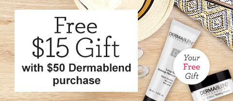Free $15 DermaBlend Travel Duo Gift!
